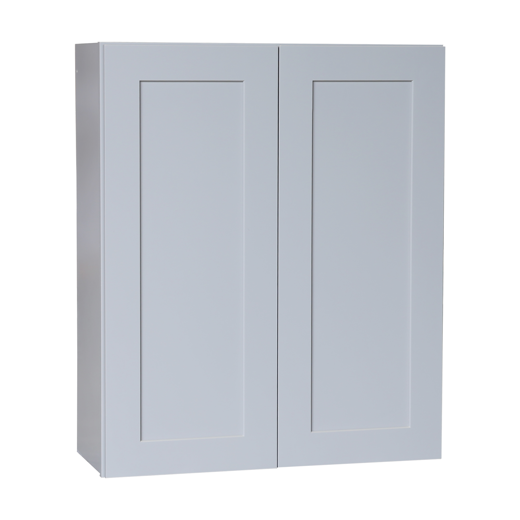 Ready to Assemble 24x21x12 in. Shaker High Double Door Wall Cabinet in Gray