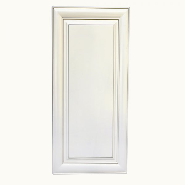 AWxW2142   Ready to Assemble 21x42x12 in.  Wall Cabinet with 1-Door and Adjustable Shelves inAntique White