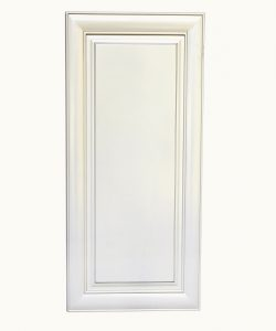 AWxW1242   Ready to Assemble 12x42x12 in.  Wall Cabinet with 1-Door and Adjustable Shelves inAntique White