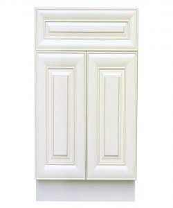 sink base cabinet with 2 doors