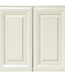 wall cabinets with 2 doors and two adjustable shelves