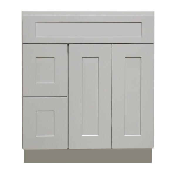 vanity sink base with drawer 2 doors 3 drawers