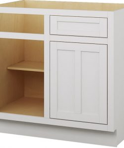 base blind corner cabinet 1 drawer 1 door 1 shelf