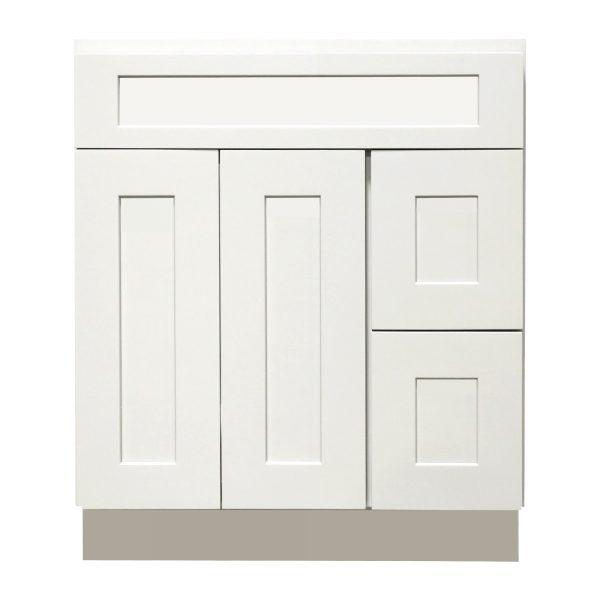vanity sink base with drawer 2 doors 3 drawers 2